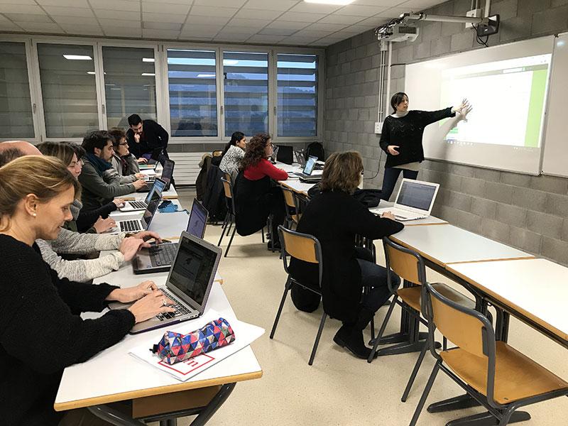 CoT Sessió de treballa Escola Ginebró